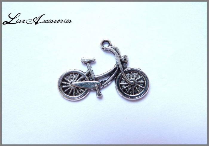 Charm bicicleta 15 X 25 mm